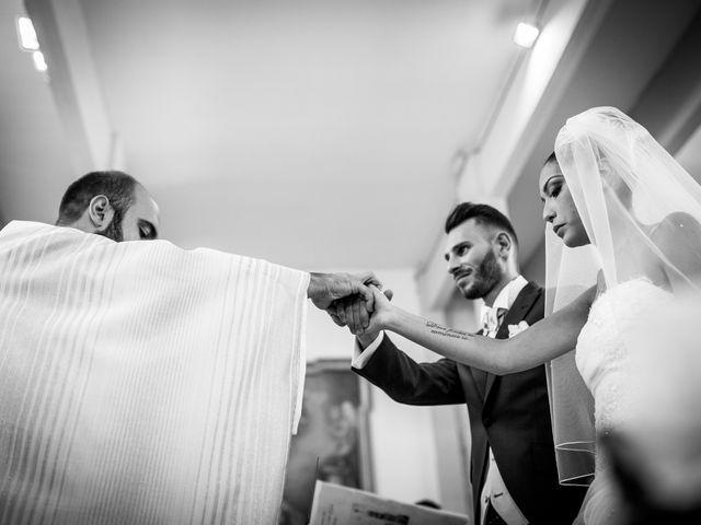 Il matrimonio di Valerio e Veronica a Palombara Sabina, Roma 44