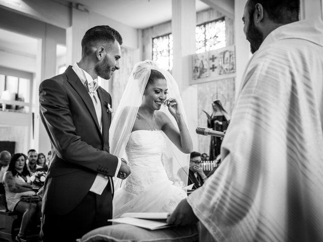Il matrimonio di Valerio e Veronica a Palombara Sabina, Roma 45