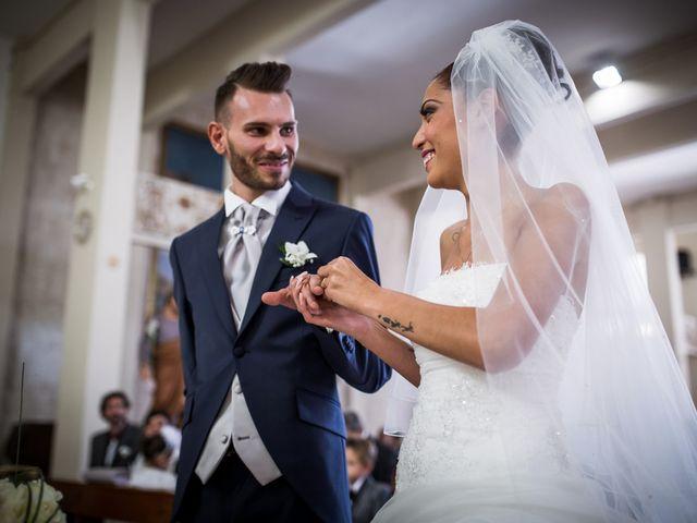 Il matrimonio di Valerio e Veronica a Palombara Sabina, Roma 46