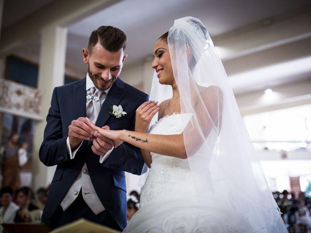 Il matrimonio di Valerio e Veronica a Palombara Sabina, Roma 47