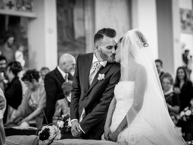 Il matrimonio di Valerio e Veronica a Palombara Sabina, Roma 48