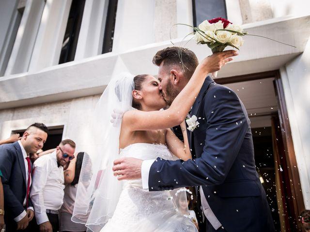 Il matrimonio di Valerio e Veronica a Palombara Sabina, Roma 52