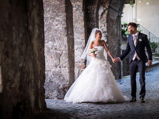 Il matrimonio di Valerio e Veronica a Palombara Sabina, Roma 53