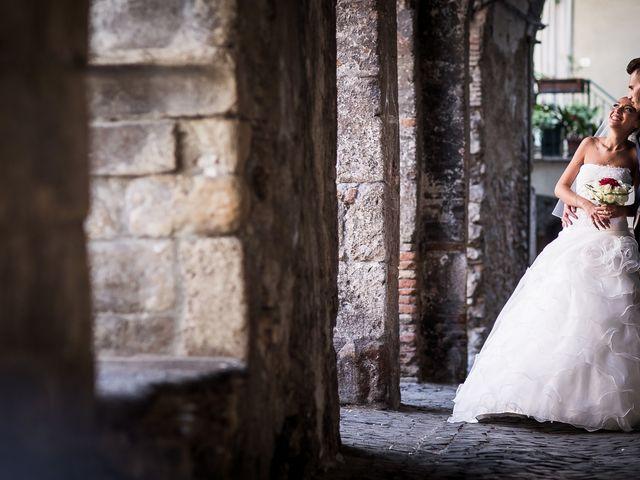 Il matrimonio di Valerio e Veronica a Palombara Sabina, Roma 54