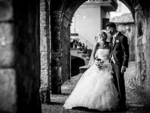 Il matrimonio di Valerio e Veronica a Palombara Sabina, Roma 55