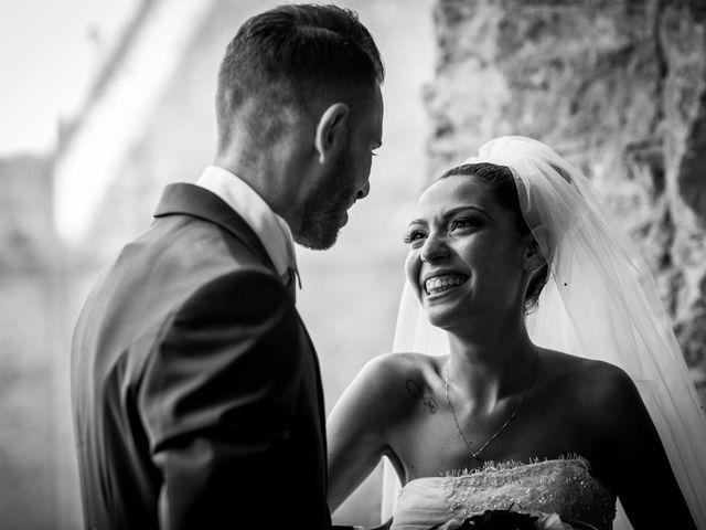 Il matrimonio di Valerio e Veronica a Palombara Sabina, Roma 56