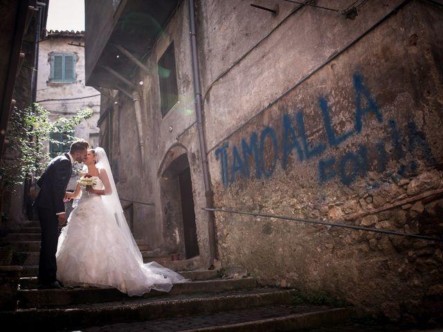 Il matrimonio di Valerio e Veronica a Palombara Sabina, Roma 57