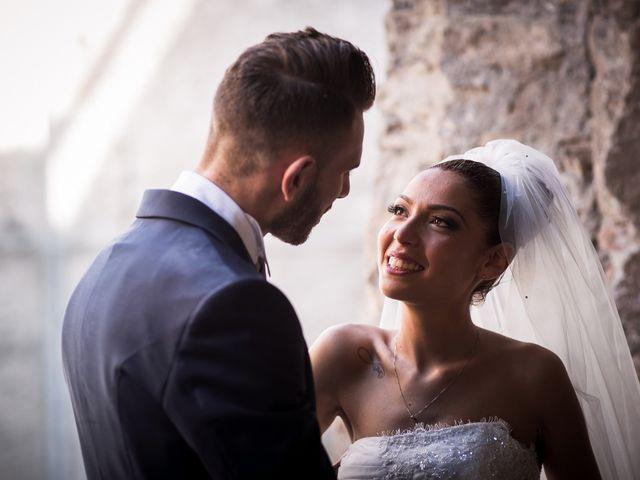 Il matrimonio di Valerio e Veronica a Palombara Sabina, Roma 58