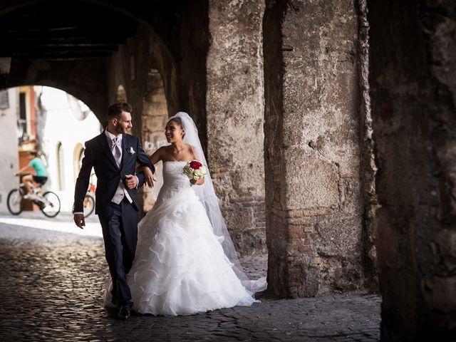 Il matrimonio di Valerio e Veronica a Palombara Sabina, Roma 59