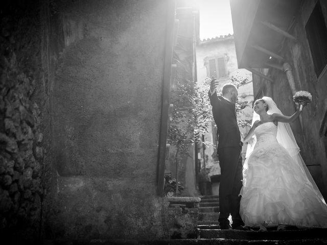 Il matrimonio di Valerio e Veronica a Palombara Sabina, Roma 60