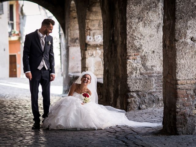 Il matrimonio di Valerio e Veronica a Palombara Sabina, Roma 61
