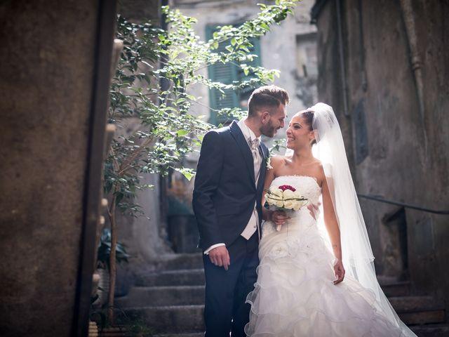 Il matrimonio di Valerio e Veronica a Palombara Sabina, Roma 62