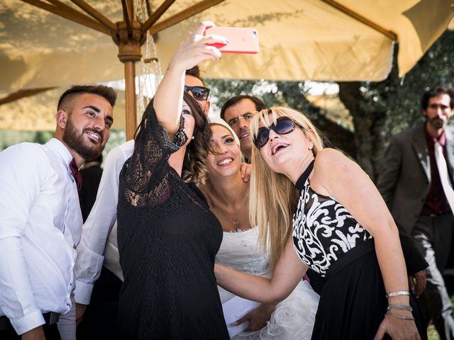 Il matrimonio di Valerio e Veronica a Palombara Sabina, Roma 68