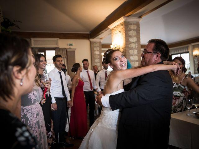 Il matrimonio di Valerio e Veronica a Palombara Sabina, Roma 74