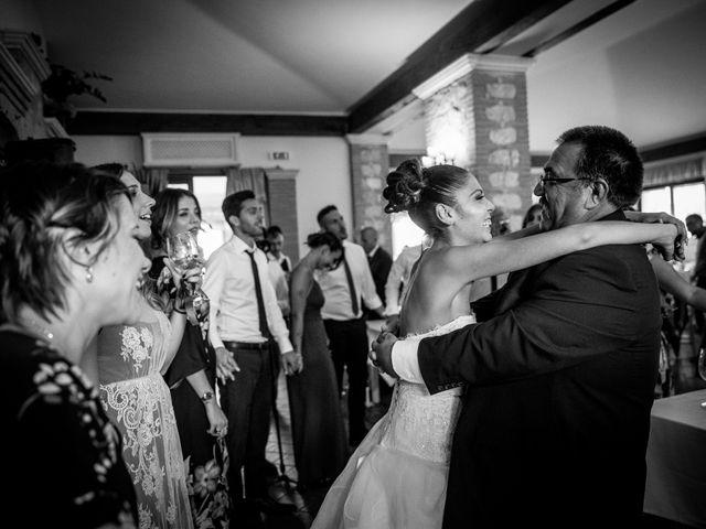 Il matrimonio di Valerio e Veronica a Palombara Sabina, Roma 75