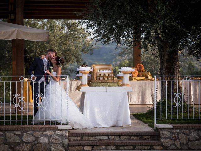 Il matrimonio di Valerio e Veronica a Palombara Sabina, Roma 78