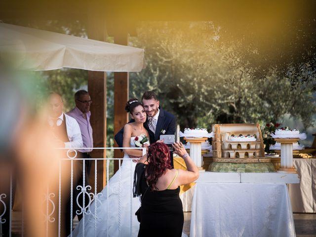 Il matrimonio di Valerio e Veronica a Palombara Sabina, Roma 80