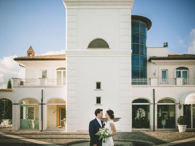 Il matrimonio di Matteo e Chiara a Bassano Romano, Viterbo 34