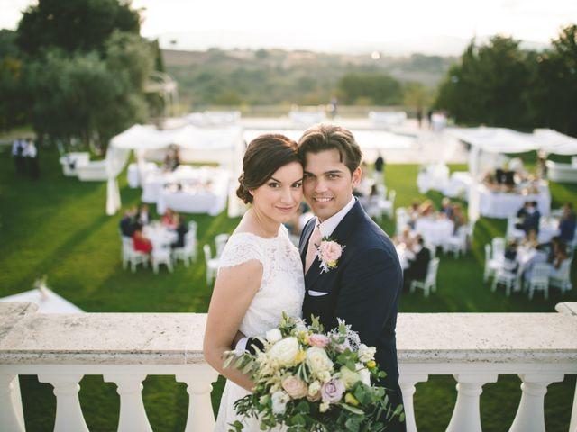 Il matrimonio di Matteo e Chiara a Bassano Romano, Viterbo 42