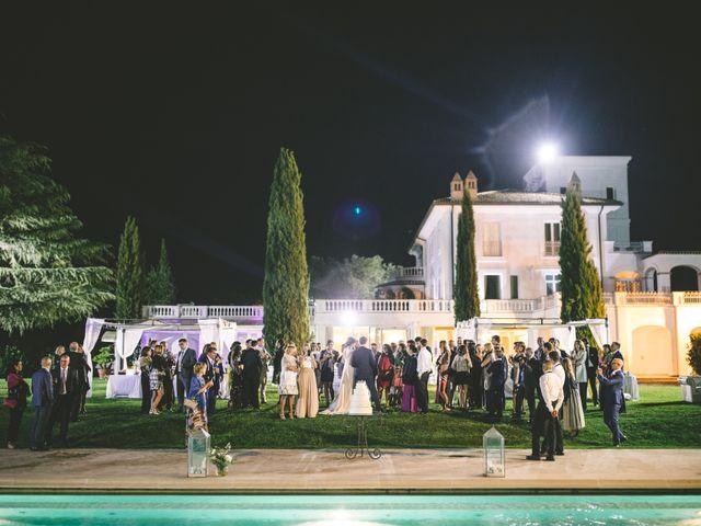 Il matrimonio di Matteo e Chiara a Bassano Romano, Viterbo 50