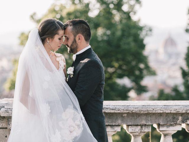 le nozze di Andreea e Iader
