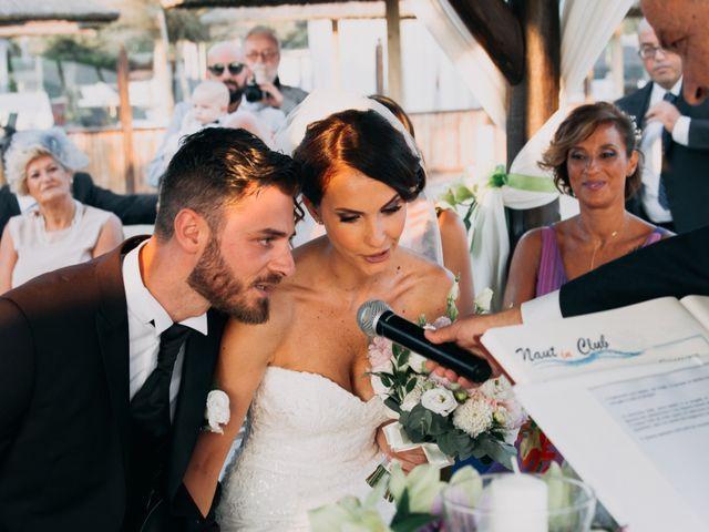 Il matrimonio di Simone e Federica a Fiumicino, Roma 12