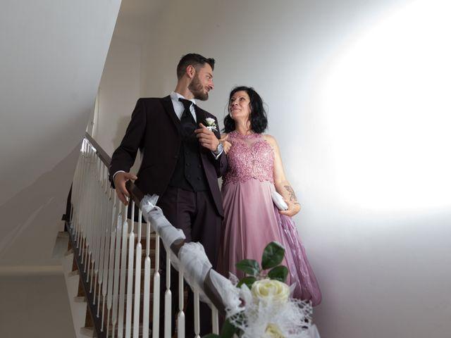 Il matrimonio di Simone e Federica a Fiumicino, Roma 22