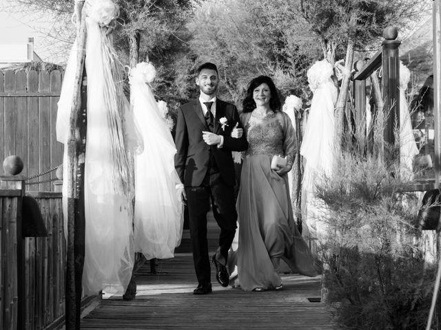 Il matrimonio di Simone e Federica a Fiumicino, Roma 43