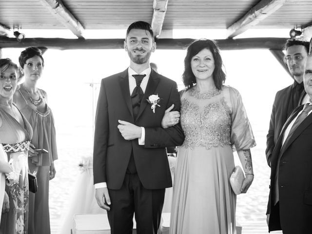 Il matrimonio di Simone e Federica a Fiumicino, Roma 44