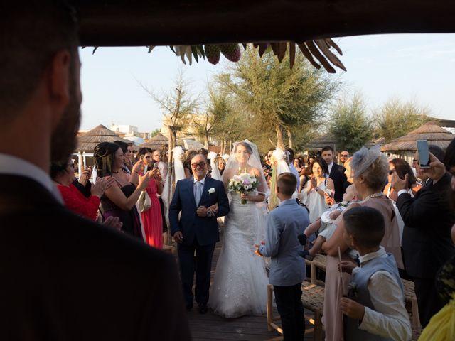 Il matrimonio di Simone e Federica a Fiumicino, Roma 47