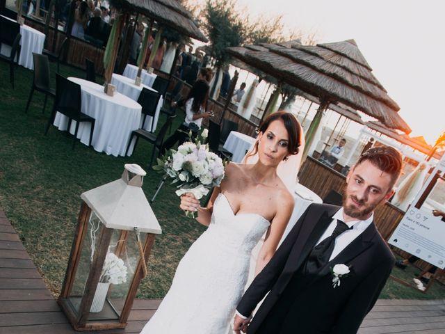 Il matrimonio di Simone e Federica a Fiumicino, Roma 60