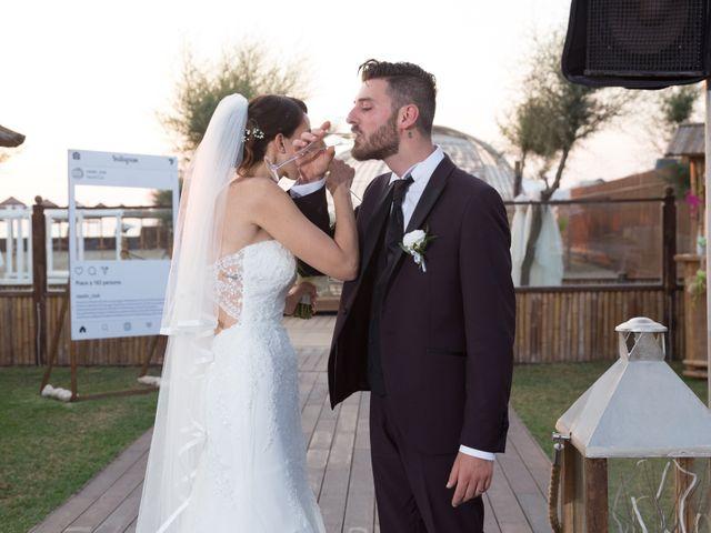 Il matrimonio di Simone e Federica a Fiumicino, Roma 61