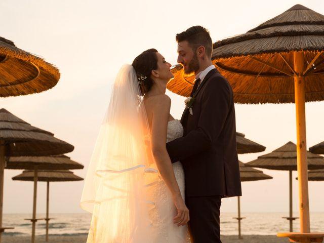 Il matrimonio di Simone e Federica a Fiumicino, Roma 62