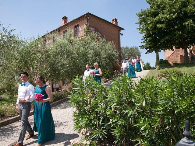 Il matrimonio di Steven e Martine a Montepulciano, Siena 5
