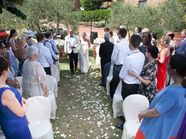 Il matrimonio di Steven e Martine a Montepulciano, Siena 7