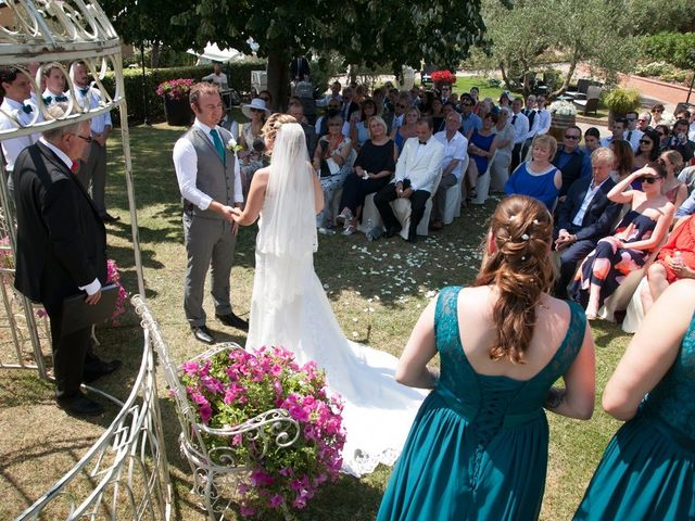 Il matrimonio di Steven e Martine a Montepulciano, Siena 10