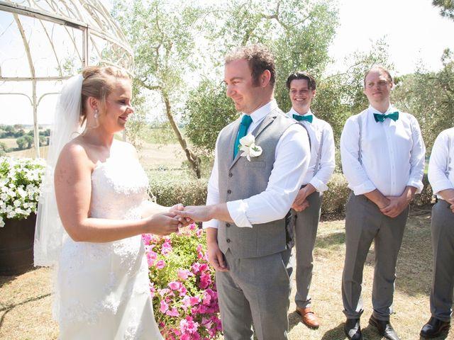 Il matrimonio di Steven e Martine a Montepulciano, Siena 11
