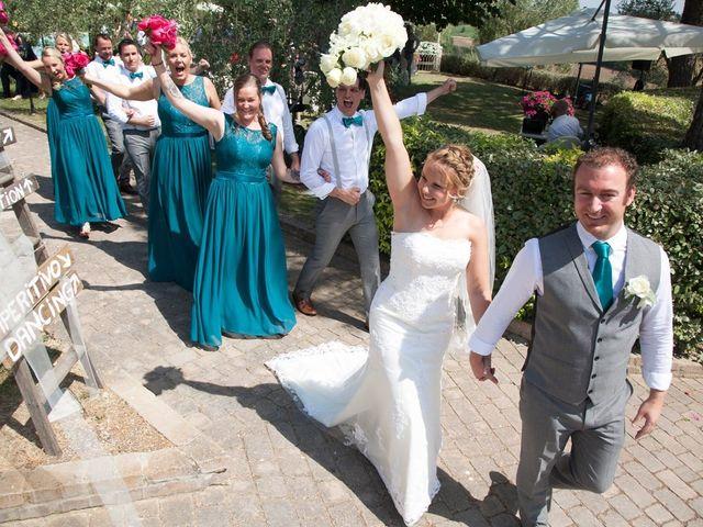 Il matrimonio di Steven e Martine a Montepulciano, Siena 12