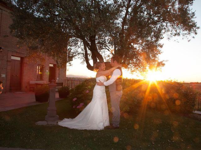 Il matrimonio di Steven e Martine a Montepulciano, Siena 17