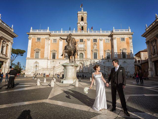 Il matrimonio di Antonio e Moira a Roma, Roma 16