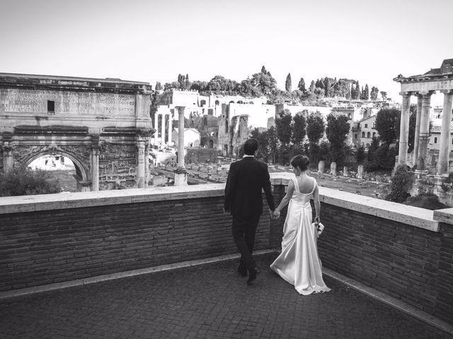Il matrimonio di Antonio e Moira a Roma, Roma 17