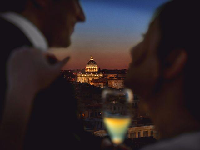 Il matrimonio di Antonio e Moira a Roma, Roma 1