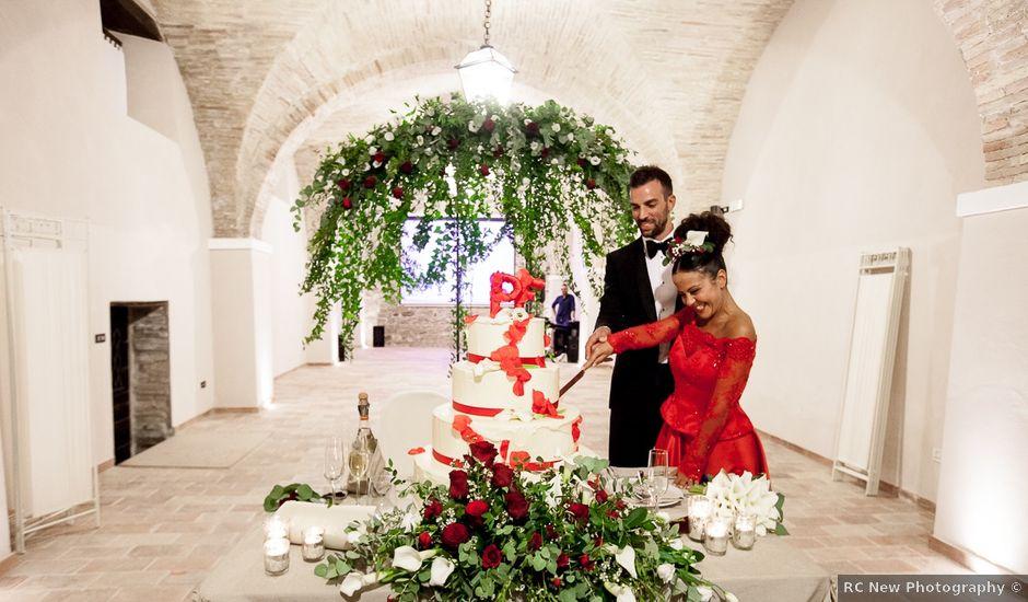 Il matrimonio di Paolo e Francesca a San Severino Marche, Macerata