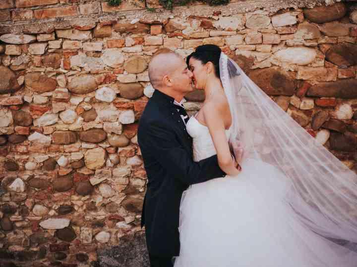 le nozze di Alessandra e Augusto