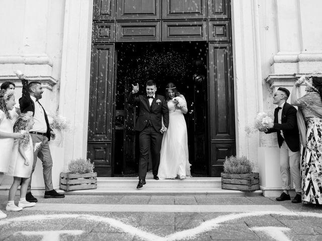 le nozze di Ilenia e Johnny