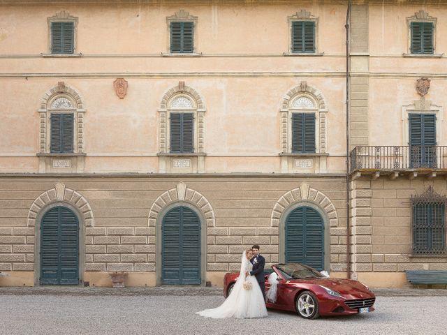 Il matrimonio di Mirco e Elena a Larciano, Pistoia 32