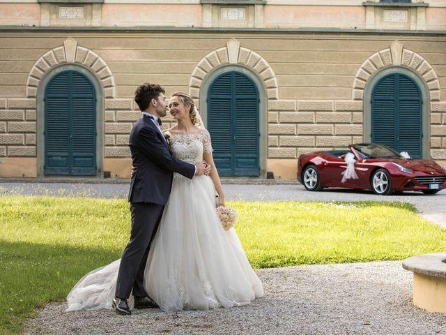 Il matrimonio di Mirco e Elena a Larciano, Pistoia 45