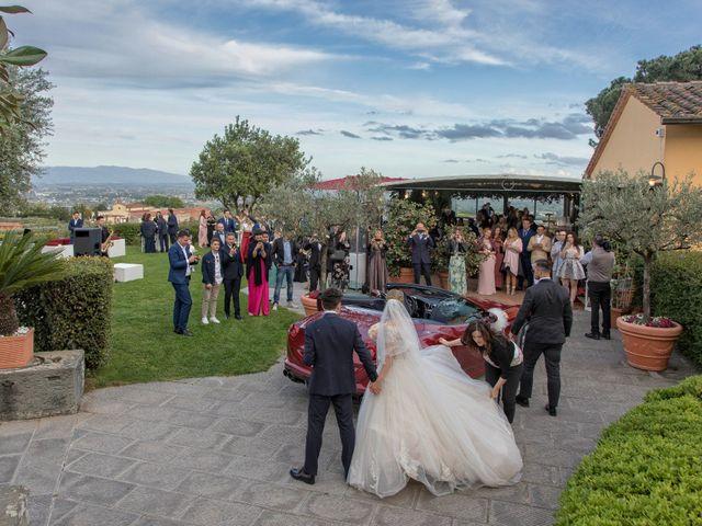 Il matrimonio di Mirco e Elena a Larciano, Pistoia 52
