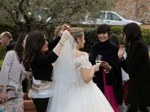 Il matrimonio di Mirco e Elena a Larciano, Pistoia 55