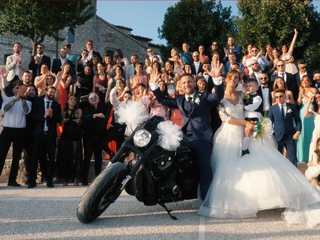 Il matrimonio di Daniele e Sara a Gubbio, Perugia 22